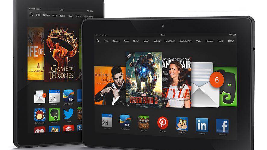 "Amazon w natarciu — tablety Kindle Fire HDX, Fire OS 3.0 ""Mojito"" i Mayday"