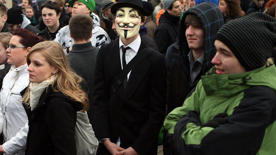 23.03.2019 – dzień protestów przeciwko ACTA 2.0 #StopACTA2 (Getty / Adam Berry / Stringer)