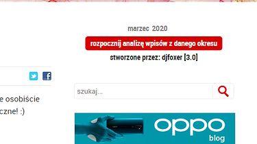 Licznik Blogowy 2020 — niezbędnik blogera wersja 3.0 (Chrome/Opera/Firefox)