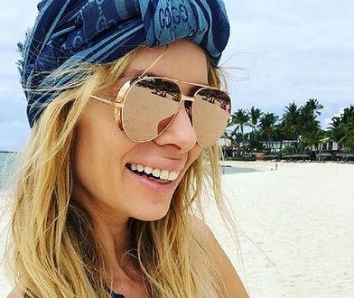 Izabela Janachowska wypoczywa na wakacjach w Dubaju