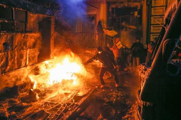 W Kijowie wciąż wrze