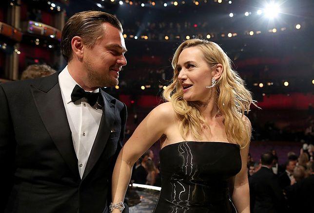 Leonardo DiCaprio i Kate Winslet znowu razem. Gwiazdy wystawiły randkę na licytacji