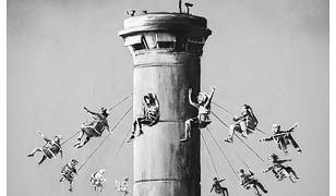 Banksy oskarżony na antysemityzm. Sprawa dotyczy plakatu o Palestynie
