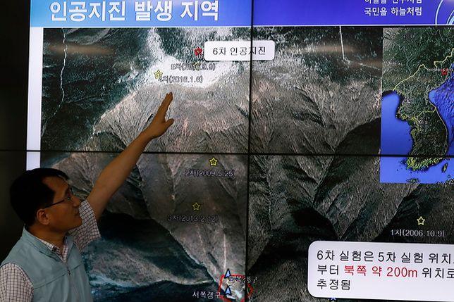 Dwa wstrząsy po próbie jądrowej w Korei Płn.