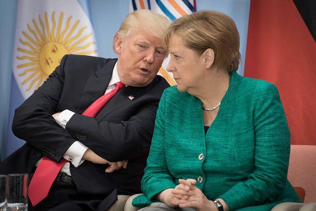 """""""Niech Angela się tym zajmie!"""". Trump o konflikcie Ukraina - Rosja"""