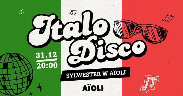 Sylwestrowa zabawa we włoskim stylu w AïOLI!