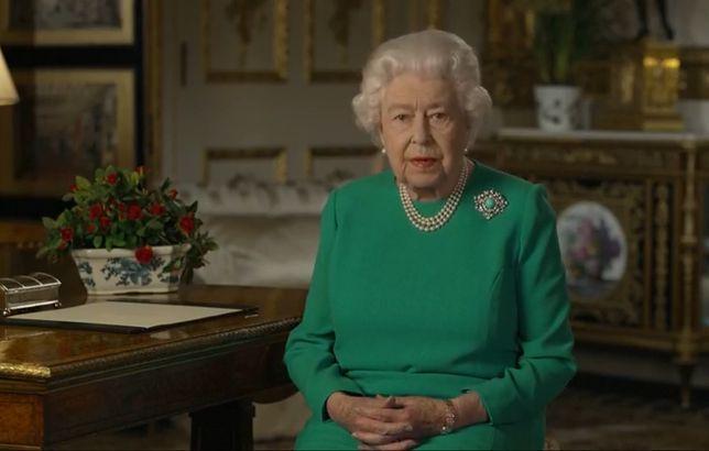 Królowa Elżbieta II przemówiła do narodu w obliczu pandemii.
