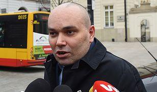 Były rzecznik SLD Tomasz Kalita.