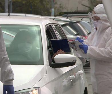 """Test na koronawirusa """"Drive&Go-Thru"""". Takich miejsc w Polsce będzie więcej"""