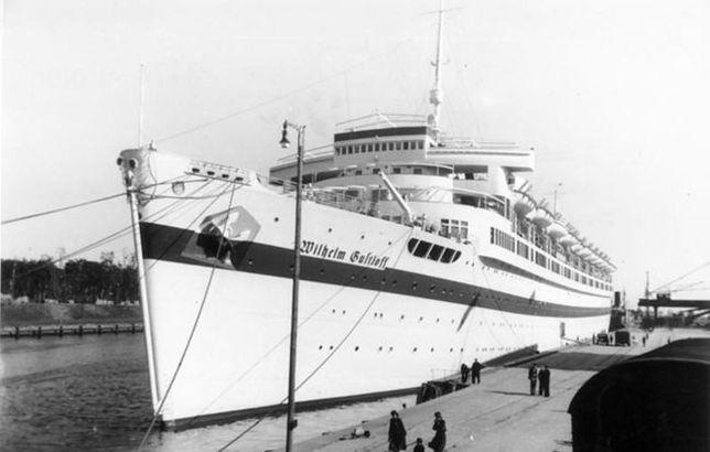 Wilhelm Gustloff w 1945 r. został zatopiony na Bałtyku