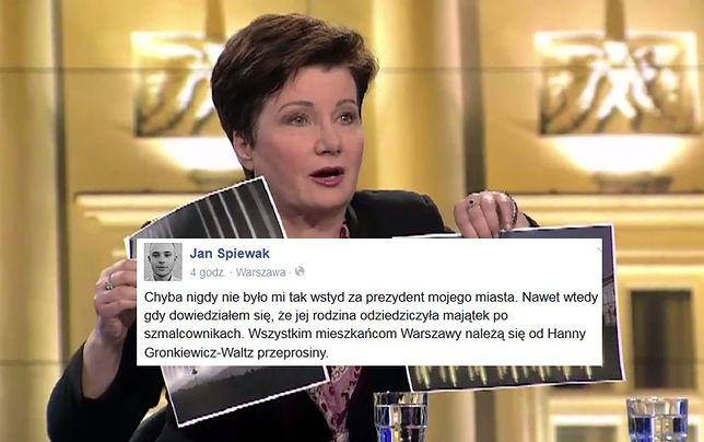 """Warszawski radny: """"Nigdy nie było mi tak wstyd za prezydent mojego miasta"""""""