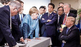 Zdjęcie ze szczytu G7 zrobiło furorę w mediach