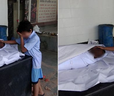Zdjęcie jedenastoletniego chłopca pogrążonego w żałobie po swoim ojcu obiegło cały świat