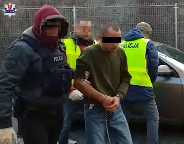 Podejrzewany o dokonanie podwójnej zbrodni Serhij S. z Ukrainy