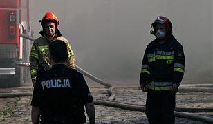 Pożar w Chorzowie