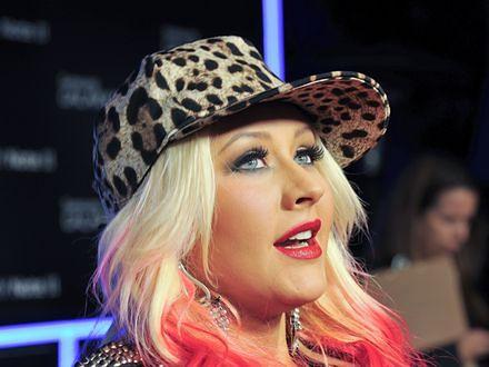Christina Aguilera chce być narkomanką
