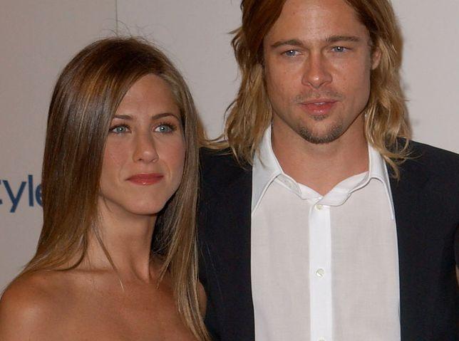 Jennifer Aniston i Brad Pitt w 2003 r.