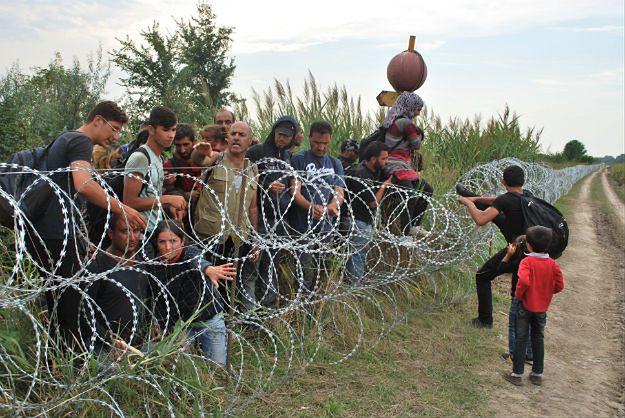 Ucieczka uchodźców z obozu. Chcą dostać się do Budapesztu