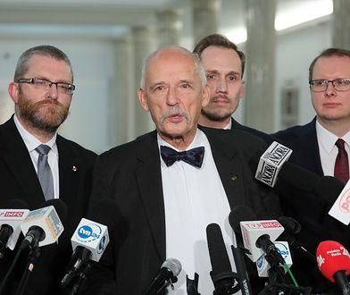 Konfederacja ma w Sejmie 11 posłów. Krzysztof Bosak (pierwszy z prawej) jest jednym z nich