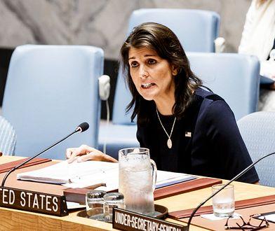 Nikki Haley była ambasadorem USA przy ONZ od 2017 r.
