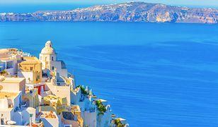 Santorini - wyspa wulkan