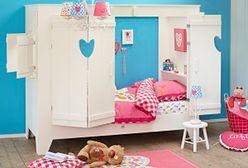 Niebanalne łóżko w pokoju dziecięcym