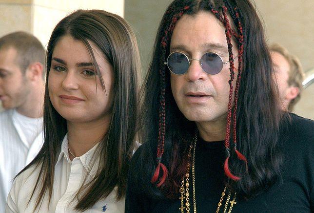 Ozzy Osbourne z córką Aimee