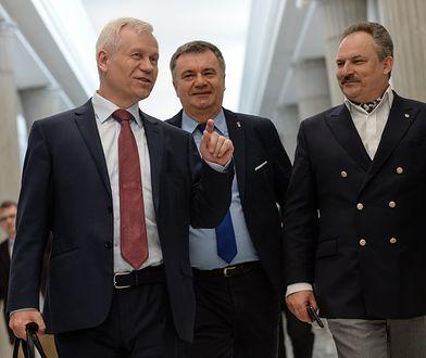 Marek Jurek, Krzysztof Kawęcki i Marek Jakubiak.
