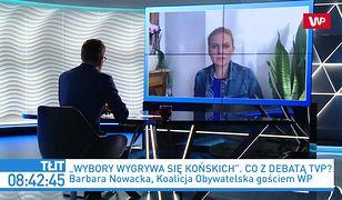 """Wybory prezydenckie 2020. Barbara Nowacka ostro o debacie TVP: Wynaturzone """"Studio Polska"""""""