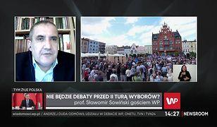 Wybory prezydenckie 2020. Rafał Trzaskowski na debacie TVP? Prof. Sławomir Sowiński: To dla niego szansa