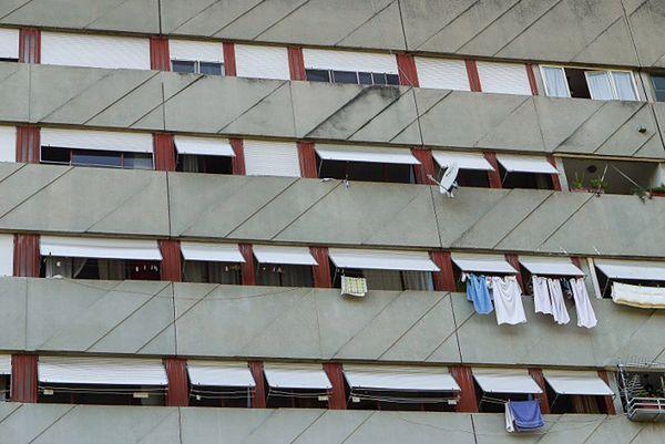 Blok mieszkalny w Rzymie