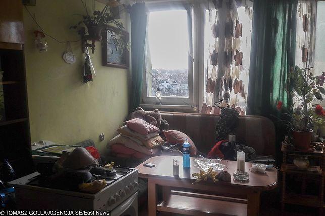 Mieszkanie, w którym doszło do zbrodni