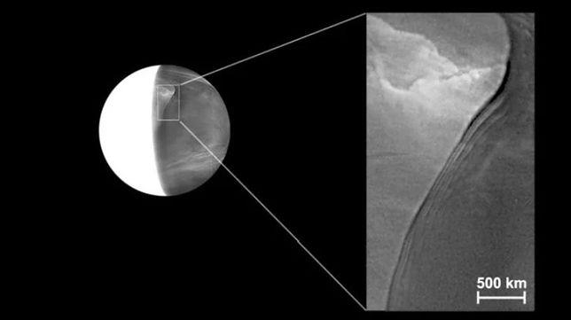 Nowa, nieznana struktura na Wenus