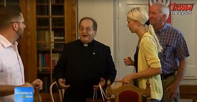 O. Tadeusz Rydzyk opowiedział kongresmenom o Radiu Maryja