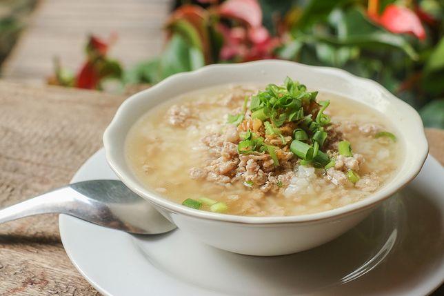 Congee ryżowe – zupa inna niż wszystkie