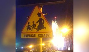 W Toruniu pojawiły się znaki ostrzegawcze