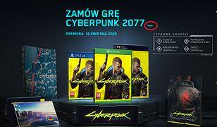 """Ukryta wiadomość na stronie """"Cyberpunk 2077"""""""