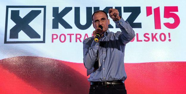 Paweł Kukiz, podczas Konwencji Strategicznej KWW KUKIZ''15