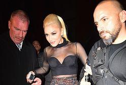 Gwen Stefani zaliczyła krępującą wpadkę. Wszystkiemu była winna za krótka kreacja