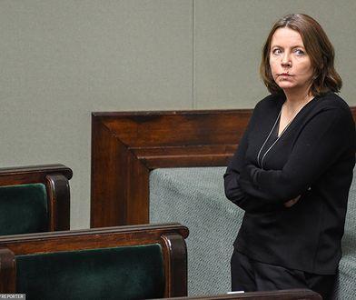 Joanna Lichocka wytknęła Pawłowi Poncyliuszowi zmianę barw politycznych