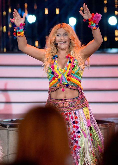 Katarzyna Skrzynecka jako Shakira