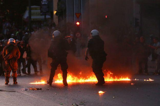 Zamieszki w Atenach