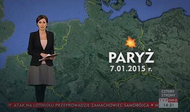 TVP pomyliła Paryż z Berlinem