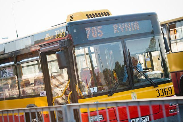 Mazowieckie. Wypadek autobusu miejskiego nad Zalewem Zegrzyńskim. Są ranni