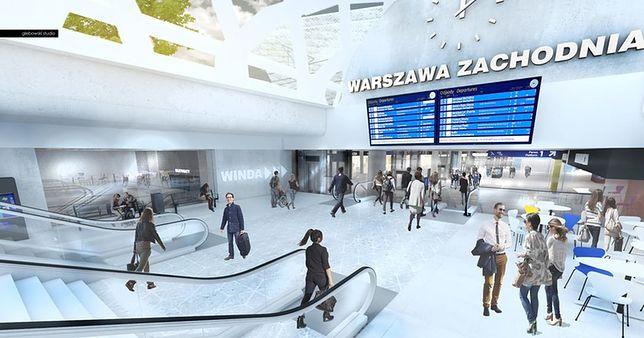Tak zmieni się dworzec Warszawa Zachodnia [WIZUALIZACJE]
