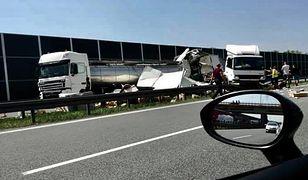 Autostrada A4 w kierunku Rzeszowa była zamknięta przez 11 godzin