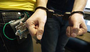 Kiedy ochroniarz próbował zatrzymać mężczyznę, 28-latek zaczął się szarpać i usiłował uciec