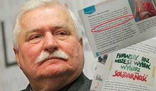 Lech Wałęsa w podręczniku dla VI klasy