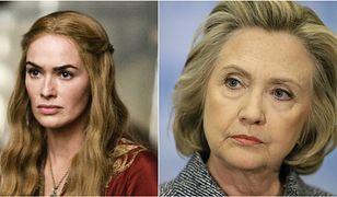 """Hillary Clinton utożsamia się z bezduszną królową z serialu """"Gra o Tron""""."""