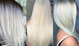 Biała farba do włosów to hit sezonu